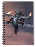 Starseige Spiral Notebook