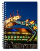 Starship 2000 Spiral Notebook
