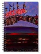 Starship Spiral Notebook