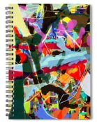 Wiping Out The Language Of Amalek 9dbi Spiral Notebook