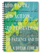 Starts With A Dream Spiral Notebook