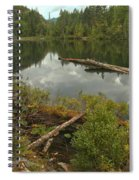 Starvation Lake - British Columbia Spiral Notebook