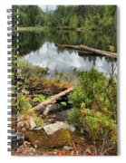 Starvation Lake Reflections Spiral Notebook