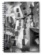 Stata Building 1 Bw Spiral Notebook