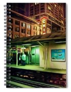 State And Lake Spiral Notebook