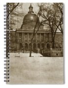 State Building Boston Massachusetts Circa 1900 Spiral Notebook