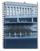 State Capital Fountain Spiral Notebook