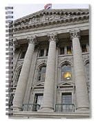 State Capitol Madison Wisconsin Spiral Notebook