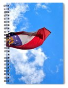State Flag Of Georgia Spiral Notebook