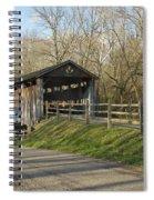 State Line Or Bebb Park Covered Bridge Spiral Notebook
