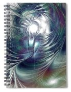 State Of Flux Spiral Notebook