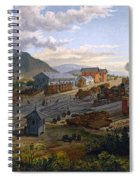 Station At Orizaba, 1878 Spiral Notebook