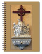 Station Of The Cross 01 Spiral Notebook