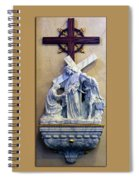 Station Of The Cross 06 Spiral Notebook
