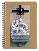 Station Of The Cross 07 Spiral Notebook