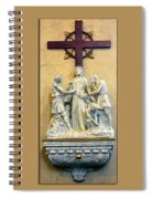 Station Of The Cross 10 Spiral Notebook