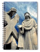 Station Of The Cross  Spiral Notebook