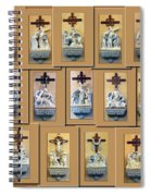 Stations Of The Cross Collage Spiral Notebook