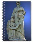 Statue 05 Spiral Notebook
