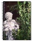 Statue 1 Spiral Notebook