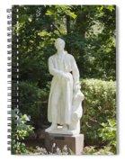 Statue 13 Spiral Notebook