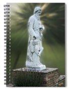 Statue 20 Spiral Notebook