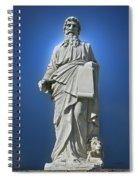 Statue 23 Spiral Notebook