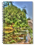 Statue In Brookgreen Gardens Spiral Notebook