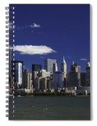 Statue Of Liberty Ferry 2 Spiral Notebook