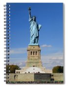 Statue Of Liberty Tourism Spiral Notebook