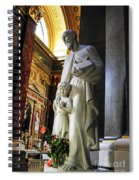 Statue Of St Stephen's Spiral Notebook
