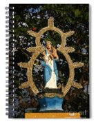 statue of the Virgin Mary in Granada Nicaragua Spiral Notebook