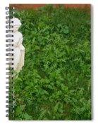 Statue Weeds Restaurant Toltec Tavern Toltec Arizona 2005 Spiral Notebook