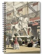 Statues In The Belgium Section Spiral Notebook