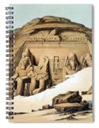 Statues Of Rameses Spiral Notebook