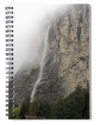 Staubbach Falls Spiral Notebook