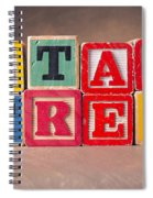 Stay Free Spiral Notebook