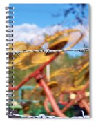 Stay Out Spiral Notebook