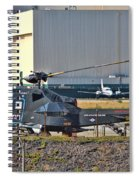 Stealth Air Attack Helicopter Spiral Notebook