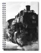Steam And Iron Spiral Notebook