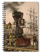 Steam And Sail Spiral Notebook