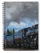Steam Engine 261 Spiral Notebook