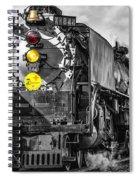 Steam Engine 844 Spiral Notebook