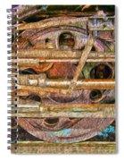Steam Engine Linkage 2 Spiral Notebook