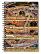 Steam Engine Linkage Spiral Notebook