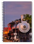 Steam Engine Number 509 Spiral Notebook