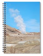 Steam From Earth Spiral Notebook