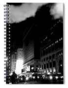 Steam Heat - New York At Night Spiral Notebook