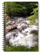 Steam In The Smoky Mountains Spiral Notebook
