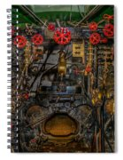 Steam Locamotive Controls Spiral Notebook
